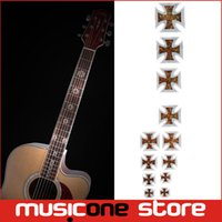 Wholesale Marker Stickers - Guitar Fretboard Inlay Stickers Imitation Abalone Gross Acoustic Electric Fret Neck Decals Markers New MU1288-23