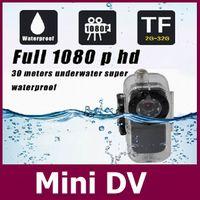 Wholesale Water Proof Mini Cameras - Water proof Mini Camera S1 Metal Body Mini DV Voice cotrol Video record 1080P Full HD network camera IR Night Vision+Free shipping