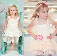 Wholesale Children S Tutu Party Dresses - Customize 2015 Dresses Girls Sleeveless Dress Layered Lace Hollowed Solid Pleated Princess Party Wear Cotton Children Kids Dress K5256