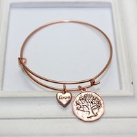 Wholesale Alex Ani Bracelet Initial - Woman Alex and Ani Love Wire bracelets & bangles for women Charms Alex and Ani pulseras Tree of Life alex and ani initial Woman Bangles