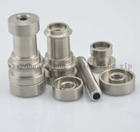 Wholesale Titanium Nail Infinity - Universal Infinity Domeless Titanium Nail 14mm & 18mm Adjustable Male or Female Oil Gr2