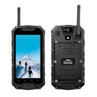 "Wholesale Shockproof Phone Android Dual Core - Original Snopow M8 4G LTE IP68 Rugged Waterproof Shockproof Smartphone PTT Two Way Radio Walkie talkie 4.5"" MTK6589 Quad Core Mobile Phone"