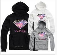 Wholesale Diamond Supply Shorts - 2016 Hottest Autumn Hip-hop Diamond Supply Co Sweatshirts Big Size Sport Mens Hoodie Hoodies & Sweatshir