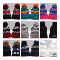 Wholesale Hockey Brand Hats - 2018 wholesale Couples hat Hot Sale Mask Caps Fashion Winter Spring Sports Beanies Casual Skullies Brand Knitted Hip Hop hats free Shipping