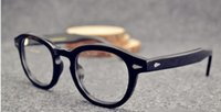 Wholesale Vintage Star Male - 2015 New fashion goggle glasses vintage Rivets sunglasses Super Star Johnny Depp women men brand glasses gafas oculo de sol