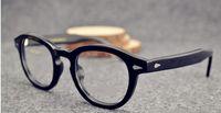 johnny depp óculos de sol de marca venda por atacado-2015 nova moda goggle óculos rebites do vintage óculos de sol super star johnny depp mulheres homens marca óculos gafas oculo de sol