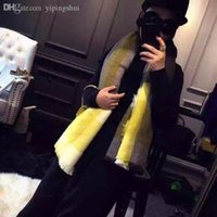 Wholesale Womens Knitted Hat Gloves - Wholesale-2015 Womens Scarf Long Fashion Casual Warm Cashmere Shawl Plaid Infinity Scarf Knitted Scarf Women Winter Scarves TO LOVE