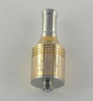 Wholesale Gold Nimbus Atomizer - E Cigarette RBA Atomizer Trident Nimbus Gold Vaporizer Kayfun Nimbus Atomizer Matched With Chiyou Bagua King E-cig Mod