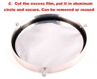 Wholesale 72mm Lens - Wholesale-New DIY telescope accessories Bard film aluminum Lens cap sun filter Planetarium AstroSolar fixed 50-72mm