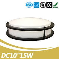 China Supplier No Flickering Dimmable 10 Inch 15W LED Design de luz de teto UL Energy Star Certification