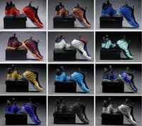 Wholesale Pro Ups - [With Original Box] Newest Hardaway Foamposite Eggplant One Pro Mens Basketball shoes Sneakers sports Running casual shoes us 7-13