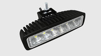 Wholesale 18W LED Work Light V V IP67 Flood Or Spot beam For WD x4 Off road Lamp TRUCK BOAT TRAIN BUS car lighting