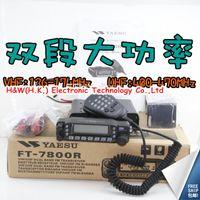 Wholesale Dualband Vhf - Wholesale-Dualband Mobile radio Yaesu FT-7800R 50W power UHF VHF 1000 CH best for Ham FT7800R car radio