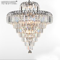 Modern Crystal Chandeliers Home Lighting Lustres de Cristal Decoration Luxury Candle Lámpara colgante Living Room Lámpara de interior MD85061