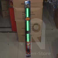 Wholesale Kids Led Toys Wholesaler - Zorn-Lightsaber Star Wars Exclusive The Force Awakens Master Replicas Yoda FX LED Electronic Lightsaber Toy green Sound certified products