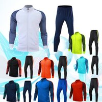 Wholesale Jacket sports suit long sleeved Jersey color choice customizable DIY name and logo