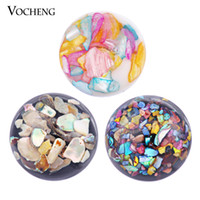Wholesale Wholesale Resin Buttons - Noosa 18mm Interchangeable Button Jewelry Resin Ginger Snap Jewelry VOCHENG (Vn-499)