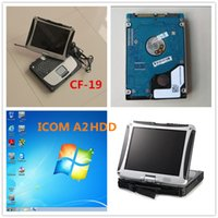 Wholesale Laptop Mode Tools - 2015 For bmw icom a2 b c HDD Expert Mode Software installed Laptop CF-19 For Panasonic newest For bmw icom a2 diagnostic tool