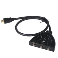 Wholesale Vga Auto Switch - Splitter 0.5m 3 HDMI Input to 1 HDMI Output Auto Switch Cable V529