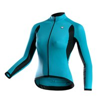 Wholesale Monton Women - Wholesale-2015 New Monton Women Long Sleeve Cycling Jersey Bike Shirt Bicycle Clothing 4 Color Free Shipping