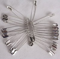 Wholesale Wholesale Safety Pins Nickel - 10000 pcs Nickel Plated Steel SAFETY PINS length (27mm)
