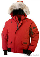 Wholesale Men S Ski Hat - High Quality CANADA New Winter Men's Down puffer jacket Casual Brand Hoodies Down Parkas Warm Ski Mens Coats Black Red 200