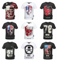 Wholesale High Quality Clothes Mens - 2018 wholesale quality is very good high-end designer clothing, shape is the perfect Medusa Mens pp T-shirt is Asian code size M-3XL