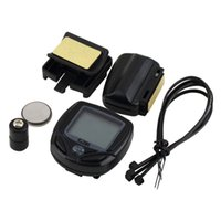 Wholesale Best Cycling Computers - Best Wireless LCD Cycle Computer Bicycle Meter Speedometer Odometer For Bike
