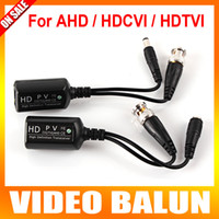 Wholesale Video Transceiver Twisted Pair - New High Definition HD Transceiver Work For AHD HDTVI HDCVI Camera Max To 700m, Video Balun Allows The Unshielded Twisted-Pair(UTP)
