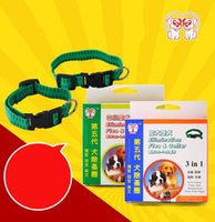 Wholesale safe dogs collars online - Elimination Flea And Tick Collar Safe Non Toxic Pets Pest Repellent Durable Demountable Dog Chaplet New kt B R