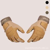 Wholesale Glove Tactic - Wholesale-New 2015 hot fashion gloves full finger gloves outdoors Blackhawk commando tactics fashion gloves gel half finger xxl fighting