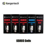 Wholesale Original Kanger Mini - 100% Original Kangertech SSOCC Clapton Coils head 0.15 0.2 0.5 1.2 1.5ohm for Kanger Toptank Mini Subvoid kits