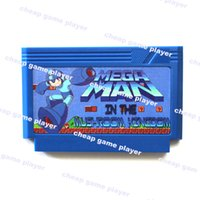 All'ingrosso-Megaman nel fungo Big Blue Shell 60 pin Card Game 8 Bit
