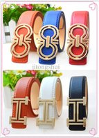 Wholesale Boy Kids Belts - Wholesale-2015 New brand hot selling fashion boys PU leather belts children letters buckle kids buckle Leisure waist strap waistband