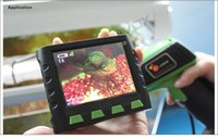 """Wholesale Endoscope Lcd 9mm - 5M Snake Pipe Dia 9mm pumbling inspection camera borescope endoscope with 3.5"""" LCD Wireless Monitor"""