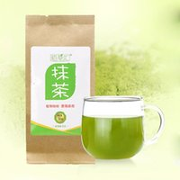 Wholesale Matcha Wholesale - Hot Tasty Useful Pure Natural Organic Ultrafine Stone Green Tea Power Matcha free shipping
