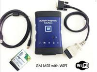 opel gm mdi großhandel-Neue GM MDI mit squ WIFI-Karte Mehrere Diagnose-Schnittstelle MDI Auto-Diagnose-Scanner schnelles Verschiffen