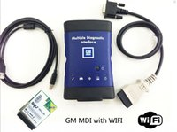 renault kann die schnittstelle anschließen großhandel-Neue GM MDI mit squ WIFI-Karte Mehrere Diagnose-Schnittstelle MDI Auto-Diagnose-Scanner schnelles Verschiffen