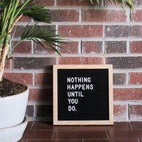 Senza supporto Felt Letter Board con 360 caratteri Free Craft Knife e Pouch per Office Business Events e Social Media xmas Christmas hot