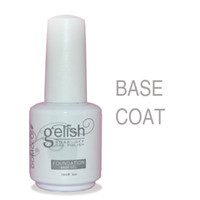 Wholesale Uv Coating For Nails - Top Quality Professional Top Coat Foundation Base Coat For Led uv Gel Nail Polish