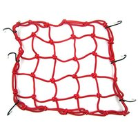 Wholesale Heavy Duty quot Cargo Net for Motorcycle Hooks Hold down Fuel Tank Luggage Net Mesh Web Bungee