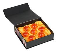muñecas colectivas al por mayor-7 Crystal bolas de dragón Z Juguetes 3,5cm nuevo en caja 7PCS bolas de dragón Juego completo
