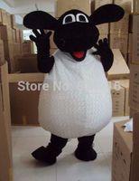 Wholesale New Style Professional Dresses - Wholesale-New Professional New Style Sheep Lamb Fancy Dress Mascot Costume Adult Size