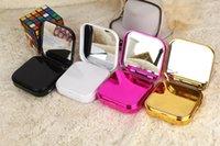 maquiagem móvel venda por atacado-2018 Cell Phone Power Banks Maquiagem caixa de espelho 7800mAh carga móvel de carregamento de tesouro presente criativo dos desenhos animados