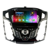 Wholesale Dvd Autoradio Android - Autoradio Quad Core HD 1024*600 Android 4.4 Car DVD player for Ford Focus 2012 with GPS,Radio,Canbus,BT,Free 8G Map