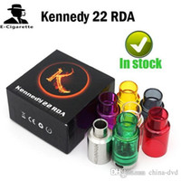 Wholesale Dream Atomizer - Kennedy 22 RDA Vaporizer Atomizer Replace Glass Tube 510 Thread VS Baal V2 RDA Touch Dream RTA AX1 RDA Geekvape Tsunami RDA Atomizers