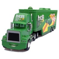 Wholesale Cars Toys 86 Truck - SALE Pixar Cars Mack Uncle #86 Chick Hicks Racer's Truck Metal Diecast Toy Car 1:55 Loose Brand New
