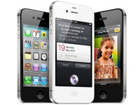 Wholesale Iphone 4s Cell Phones - iPhone4s Unlocked Original Apple iPhone 4S iOS 8 Dual-core 16GB 32G ROM 3.5 inches 8MP Camera WIFI 3G GPS Cell Phone Sealed box Black White