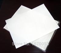 papel origami envio grátis venda por atacado-100 folhas de papel de sublimação de tintura A4 para canecas placas de cristal de rocha de cristal camiseta de madeira