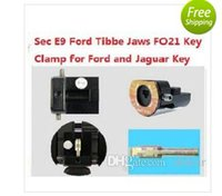 Wholesale Toyota Parts Free Shipping - 2018 Best Free Shipping!!!SEC-E9 Key Cutting Machine Parts Ford Tibbe Jaws FO21 Key Clamps Special for Ford and Jaguar Key